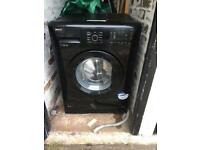 Black beko washing machine 7kg