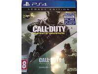 Call of Duty infinite warfare legacy edition with Modern warfare £40