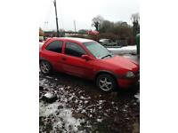 Vauxhall Corsa b parts (breaking, rally, project, repair)