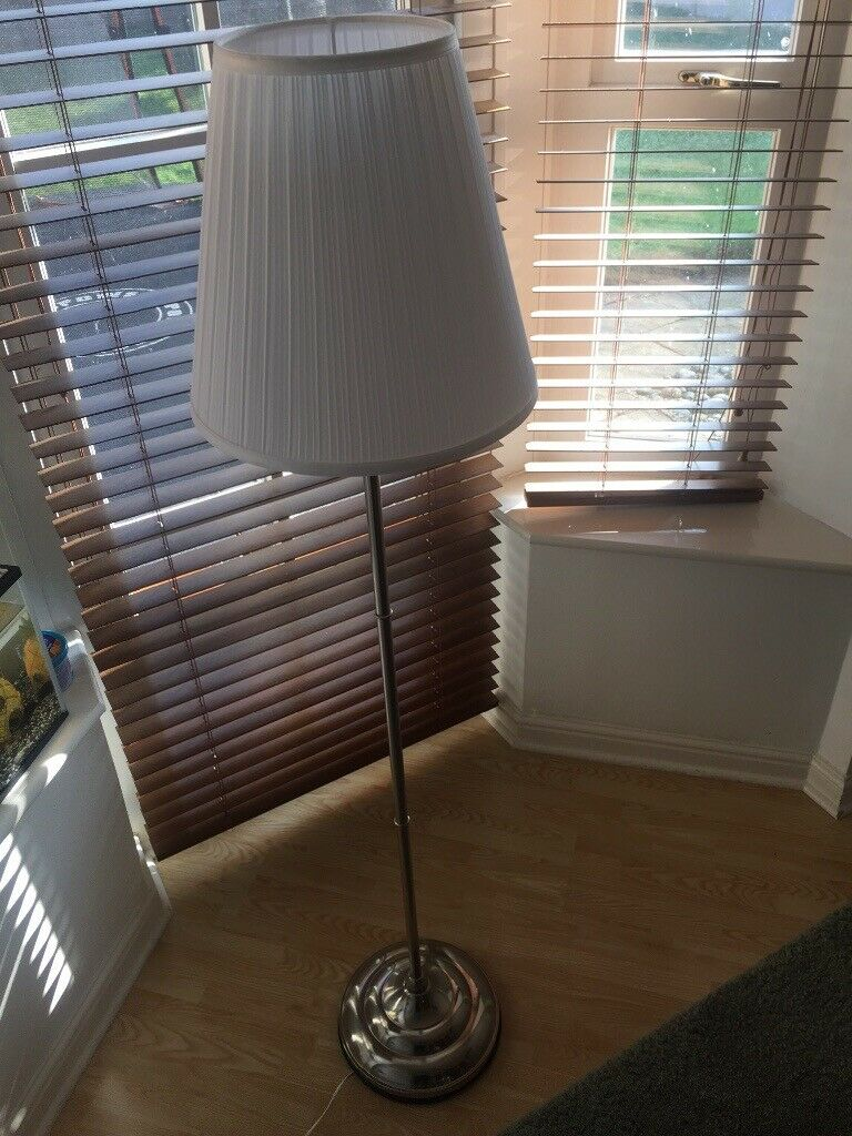 online retailer b0e75 0f618 IKEA ARSTID FLOOR LAMP with light bulb | in Oadby, Leicestershire | Gumtree