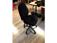Black Comfort Ergo 2 Lever Operator Chair - great condition