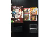 New Nintendo 3DS XL With Games/Charger/Carrying Case