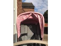 Pink bugaboo bee 3 accessories ONLY