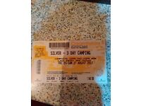 Silver 3 day camping creamfields ticket for sale