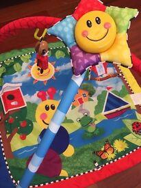 Little Einstein baby play mat with activity arch