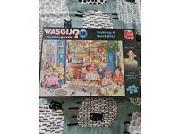 Brand New Wasgij jigsaw puzzle 'Grabbing a quick bite'