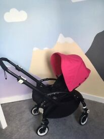 Bugaboo bee plus pushchair with extras
