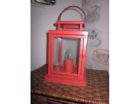 Lamp, Light, Lantern effect, vintage style, BHS, immacualte condition.