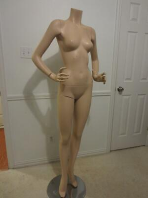 Full Body Adult Female Mannequin With Stand Full Size
