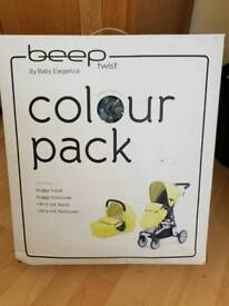 Beep twist colour pack by baby elegance
