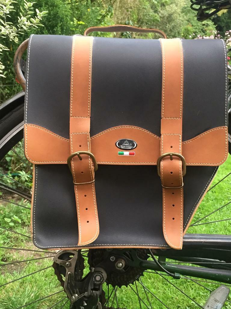 Italian Handmade Pannier Bicycle Bags