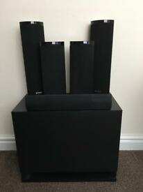 Sony Surround Sound Speakers £60 *reduced price for quick sale*