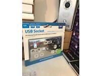 USB Double Socket on sale 2 for £30