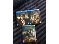 All 3 Hobbit Films Blu Ray