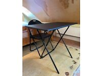 Foldable Desk & Foldable Chair