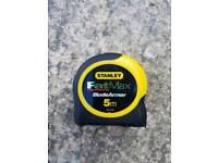 Brand new Stanley FatMax 5m measure tape
