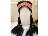 Red Indian Girl Wig