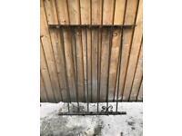 Metal Railing Garden Wall Feature Wrought Iron