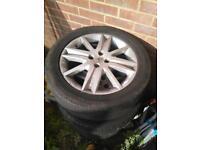 4x Renault/Vauxhall Fitment Alloy wheels