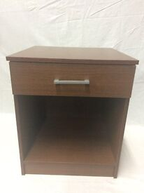 Brand New 1 Drawer Bedside Chest/ Lamp Table