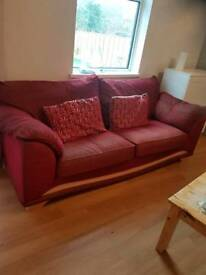 Free 2 large sofas