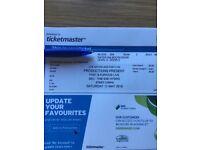 Fast & furious live tickets Sse hydro Glasgow x 4