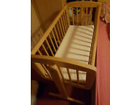 Mother Care Swinging Crib x2