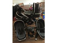 Icandy Peach Double Pushchair