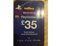 Playstation 4 PS4 PS3 wallet top up voucher