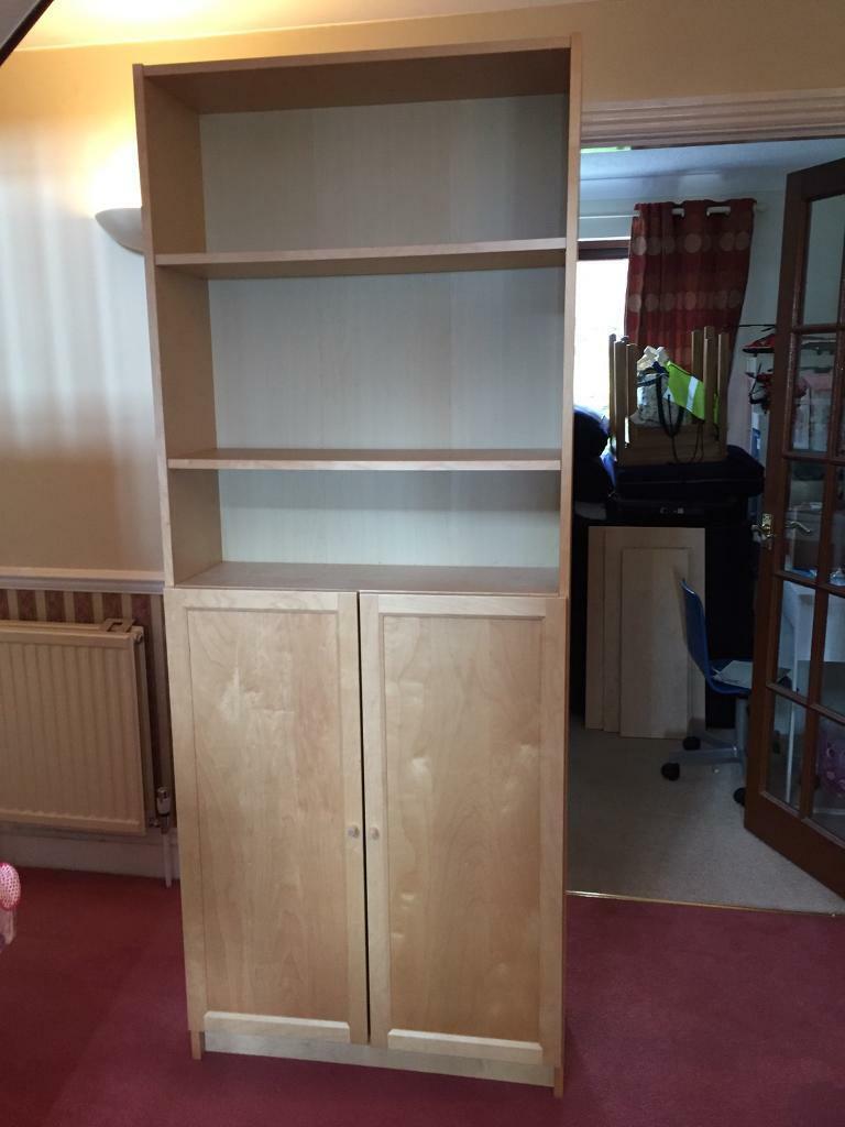 Ikea Billy Bookcase With Doors In Teignmouth Devon Gumtree