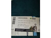 4TH ODI ENGLAND VS PAKISTAN AT LEEDS 1 TICKET AVAILABLE