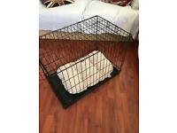 Small Dog Crate with Bed