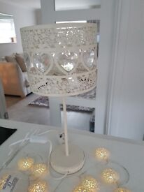 Lamp and matching fairy lights