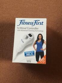 Fitness First 'U move' controller for the Wii