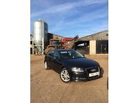 Audi A3 1.6 TDI black 5dr sportback