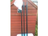 Roof bars for peugeot partner with bicycle rack.£60
