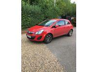 2014 64 Vauxhall Corsa Excite AC CDTI Ecoflex 3 Dr Diesel Hatchback 1 Owner, Red