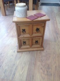 Small draw table
