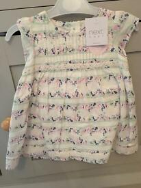 Next baby girl dress