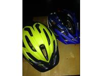 Bell & prowell bike helmet both in brand new condition