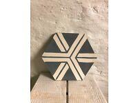 Moroccan Handmade Encaustic tiles POPHAM, Job lot, offers welcomed