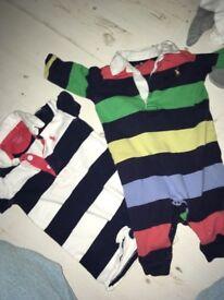 Baby boys clothes blankets bundle