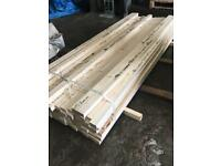 Timber wood dressed planed