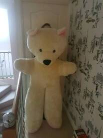 5ft Teddy Bear - excellent condition