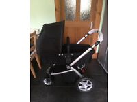 mothercare my4 3 way pram excellent condition hardly used