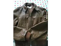 Urban Code leather jacket size 10