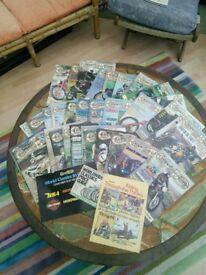 For Swaps: Loads of Classic Bike magazines