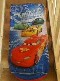 Disney cars blow up bed