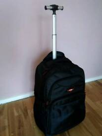 Wheeled Flight Case Travel Bag Rucksack Holdall