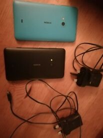 x2 Nokia lumia 625 sim free mobile phones